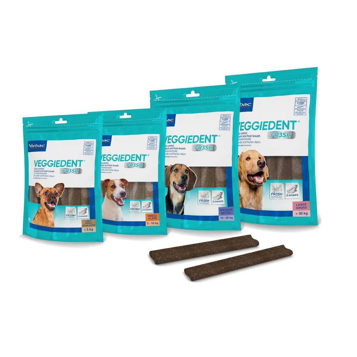 CET VeggieDent Fresh Tartar Control Chews for Dogs